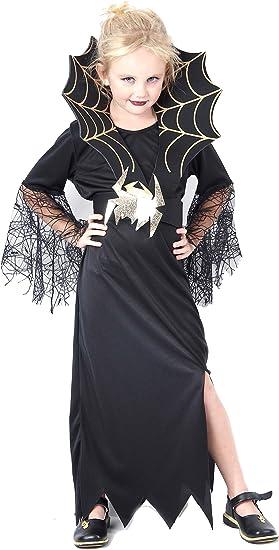 Disfraz de reina de las arañas para niña, ideal para Halloween ...