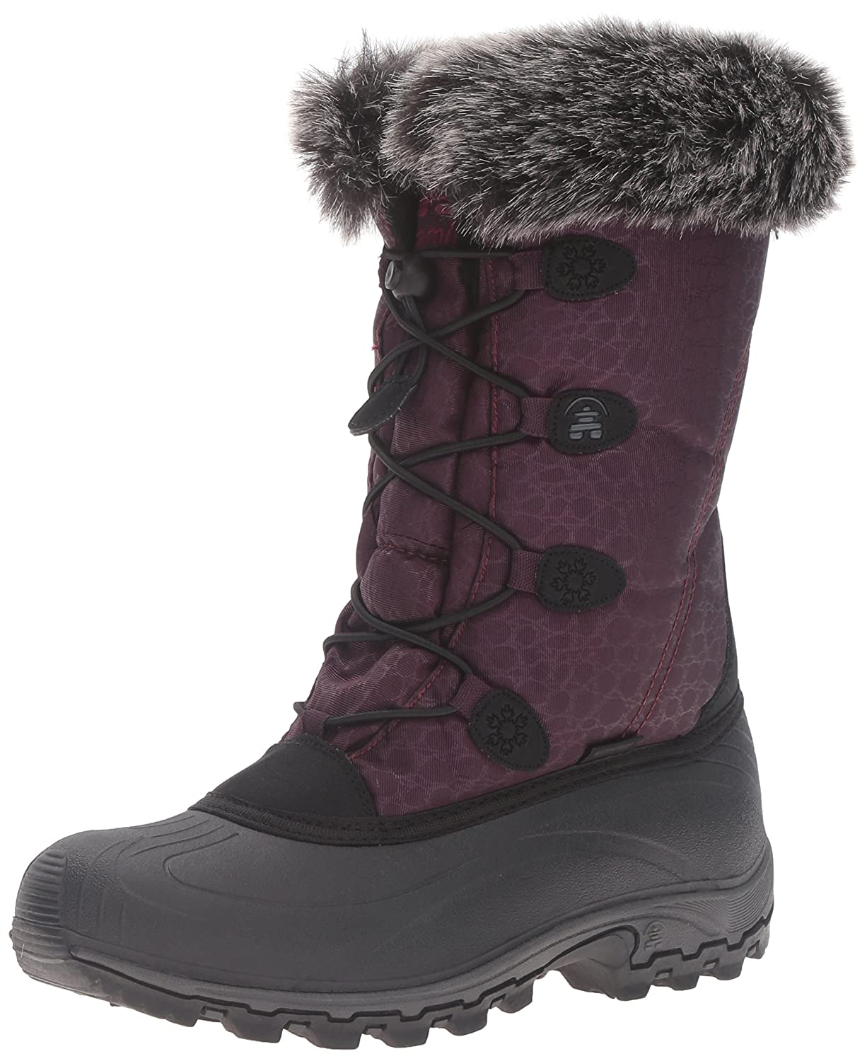 Kamik Women's Momentum Snow Boot B01M048LRR 8.5 B(M) US|Burgundy