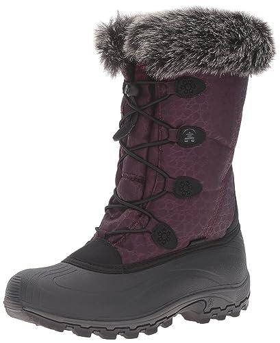 b0dc99b26bb Kamik Women's Momentum Snow Boot, Burgundy, 6 M US