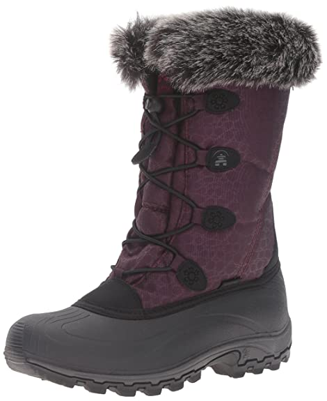 Kamik Women's Momentum Snow Boot, Burgundy, ...