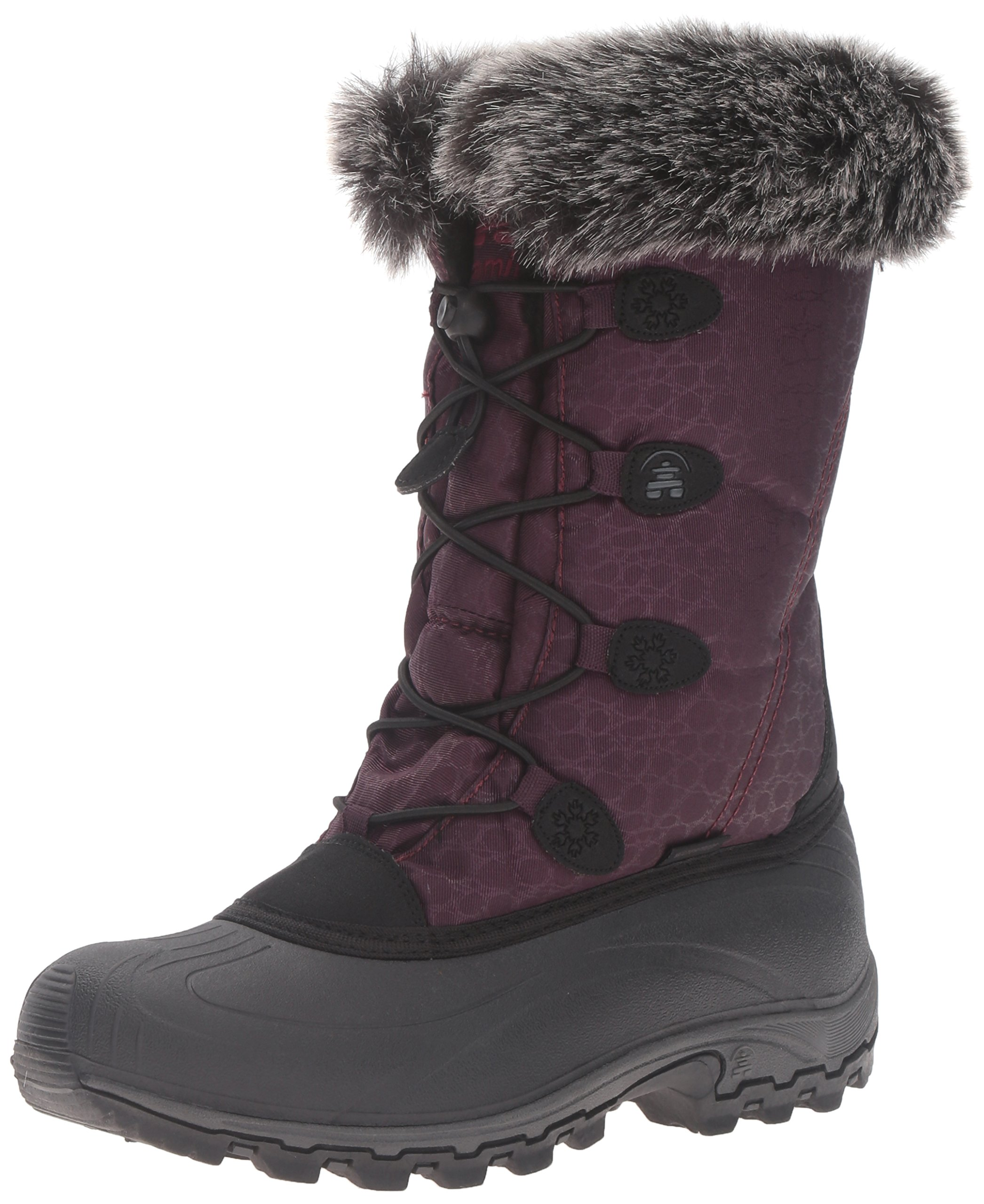 Kamik Women's Momentum Snow Boot, Burgundy, 7 M US