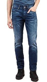Timberland Mirror Lake Skinny Jeans Uomo Jeans 36: Amazon.it