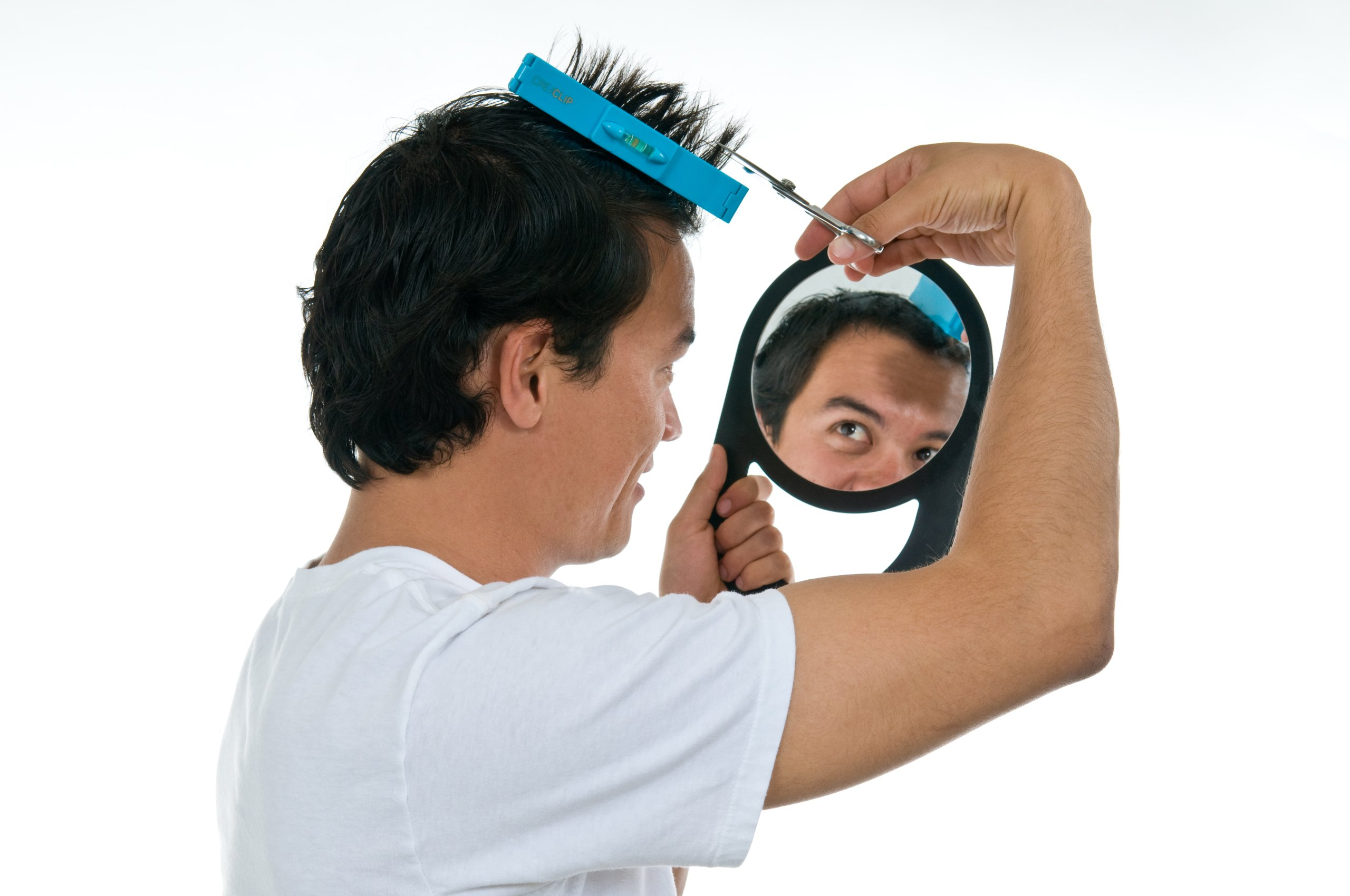 Original CreaClip Bangs and Scissors – As seen on Shark Tank – Professional Hair Cutting Tool by CreaProducts (Image #8)