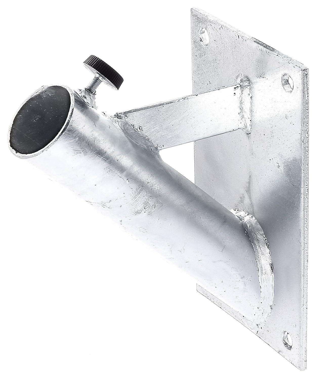 Gah-Alberts 639815 - Soporte de pared para banderas (metal galvanizado en caliente)