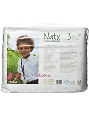 Naty by nature babycare - Pañales para niño, tamaño 3 (4-9 kg), 4 paquetes (4 x 31 unidades)