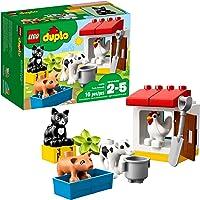 LEGO Juego de Construcción Duplo Town Animales de la Granja (10870)