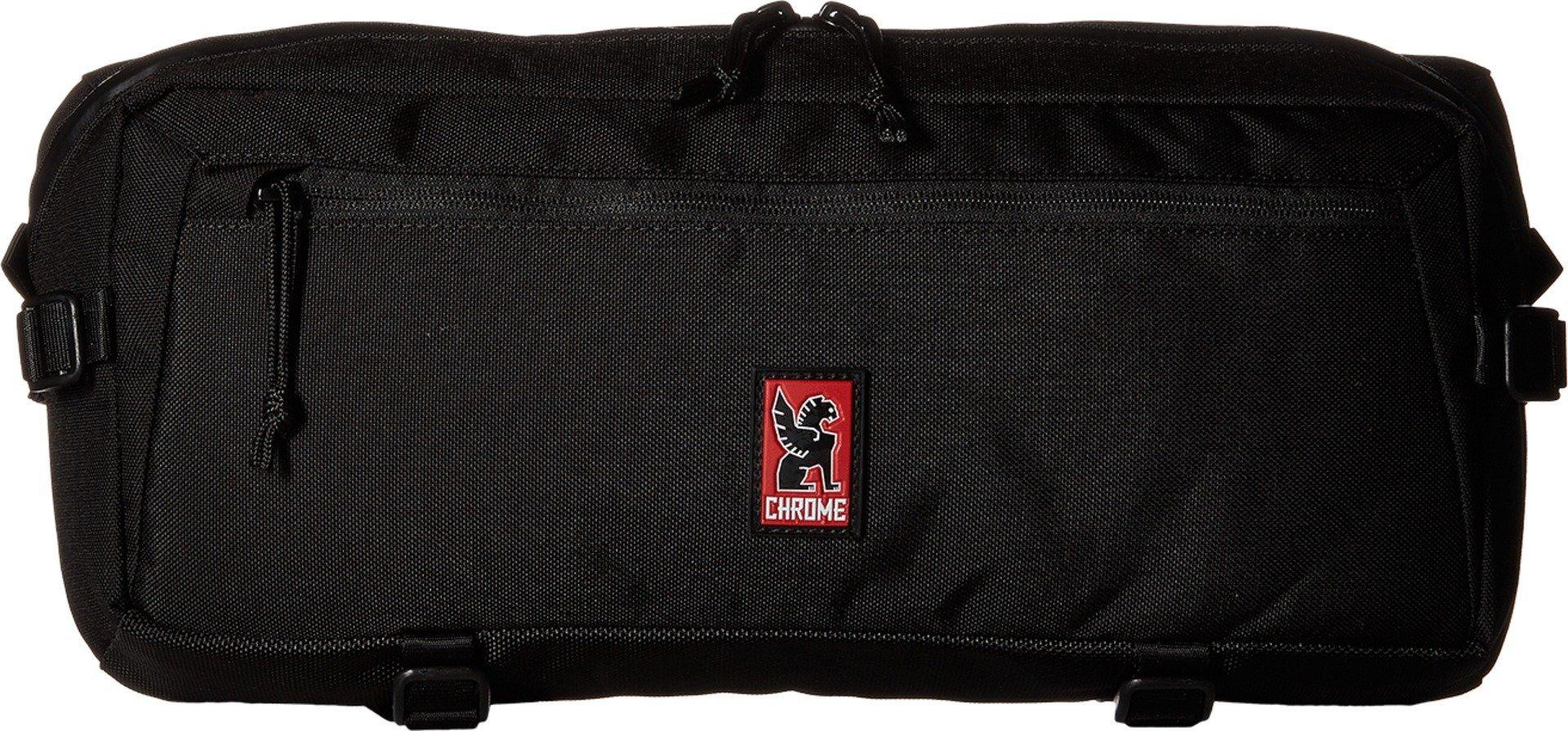 Chrome BG-196-BK Black One Size Kadet Sling Messenger Bag