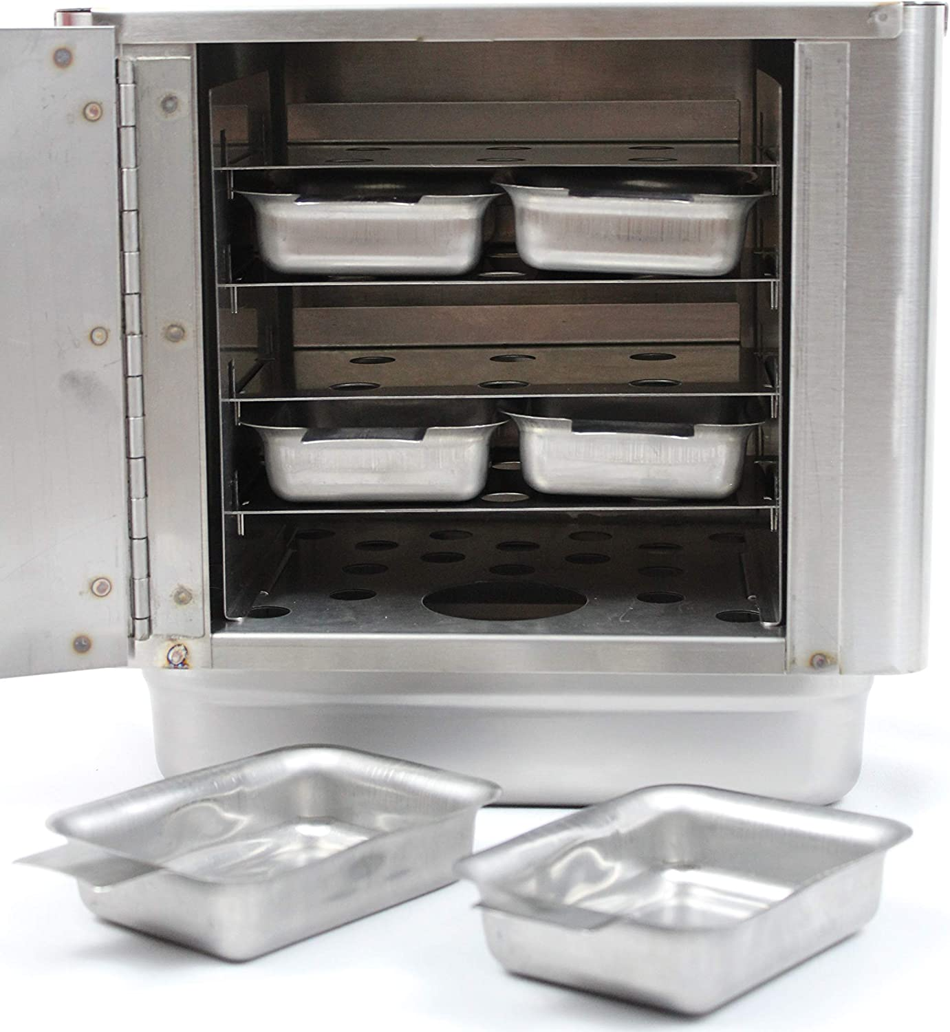 Steam Box for Cooking the World Famous Steamed Cheeseburgers