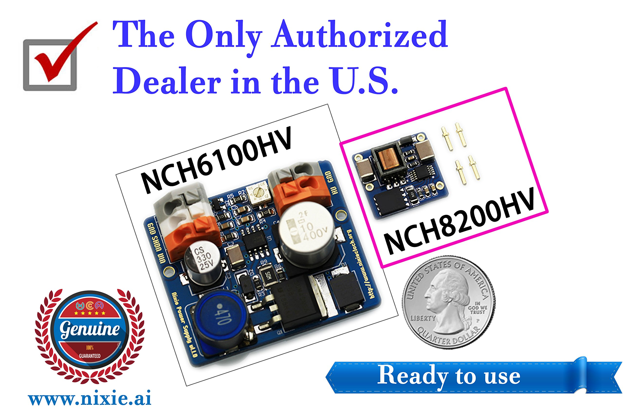 【Genuine】NCH8200HV High Voltage Module for Nixie Tube Clock