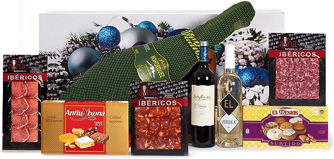 Lotes, Cestas y Regalos Lote De Navidad, 7500 g, Pack de 1: Amazon.es: Alimentación y bebidas