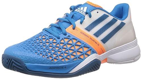 adidas CC Adizero Feather Q22077 - Zapatillas de tenis de tela para hombre, color, talla 44: Amazon.es: Zapatos y complementos