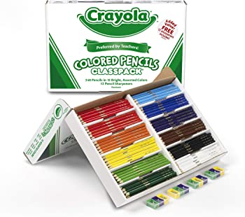 Crayola 240 Colored Pencils