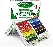 Crayola Colored Pencils, Bulk Classpack, Classroom Supplies, 12 Assorted Colors, 240 Count