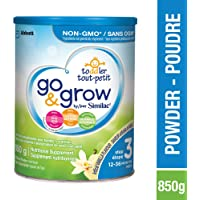 Similac Go & Grow By Similac Step 3 Toddler Drink, Powder, 850g, 12-36 Months, Vanilla Flavour, Blue