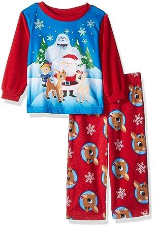 03fc76197832 Amazon.com  Rudolph Baby Boys Red-Nosed Reindeer 2-Piece Fleece ...