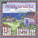 Wells Street by Lang 2017 Simply Grateful Wall Calendar, 12 x 12 inches, January to December 2017 (17997001728)