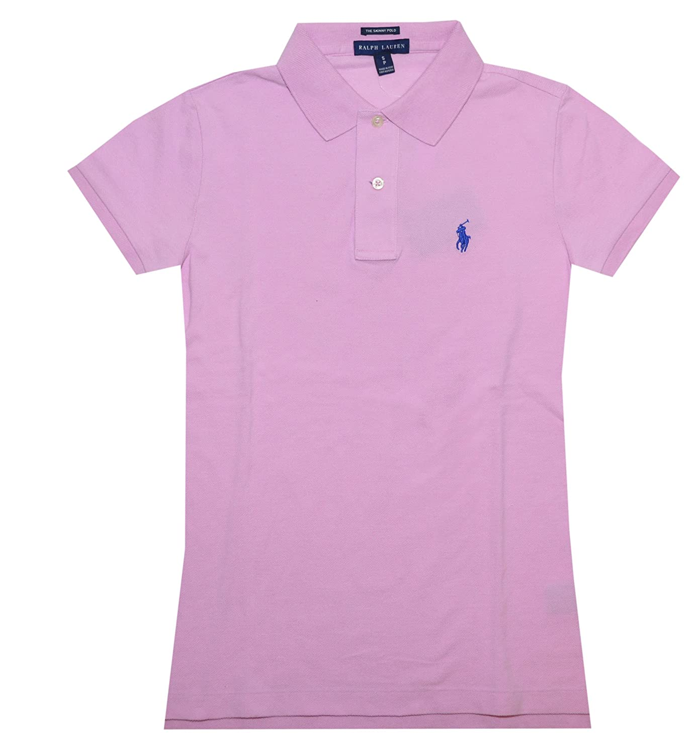 a706f6291 Top13: Ralph Lauren Skinny Fit Women Logo Polo T-shirt (Metro Pink/Blue  pony)