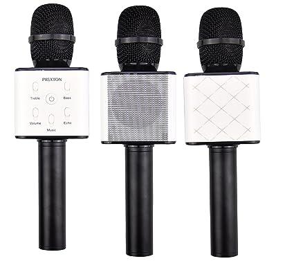 Microfono altavoz Negro