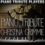 Piano Tribute to Christina Grimmie