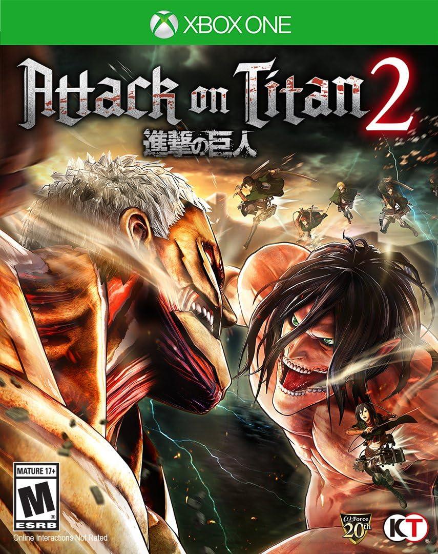Amazon.com: Attack on Titan 2 - Xbox One: Video Games
