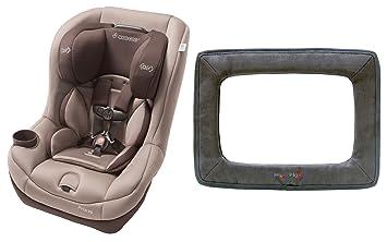 Maxi Cosi Pria 70 Convertible Car Seat Walnut Brown With Backseat Mirror