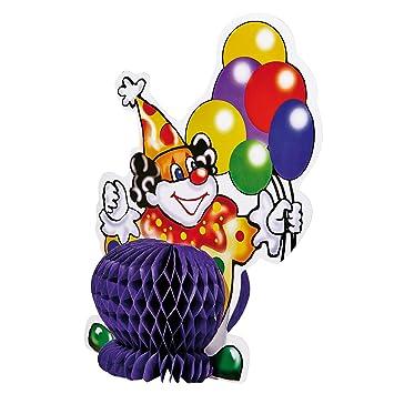Susy Card 3d Tischdeko Clown 1 Stuck Im Polybeutel Mit Header