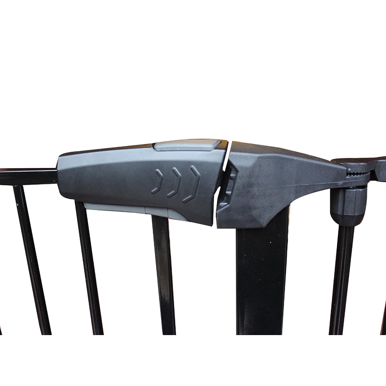m/étal massif, Premium Four Grille de protection//chemin/ée Grille de protection//Porte Grille de protection Noir//Grille darr/êt