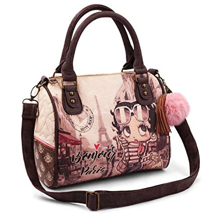 KARACTERMANIA Betty Boop Streets Moon (Petit) Sac bandoulière, 20 cm