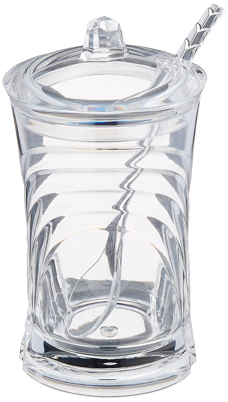 Prodyne Sugar Please Acrylic Sugar Jar with Spoon in Glacier SJ-72