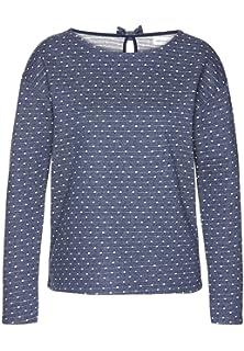 4335cb27688c armedangels Damen Sweatshirt aus Bio-Baumwolle - Noa Dotted Bow - GOTS,  Organic,