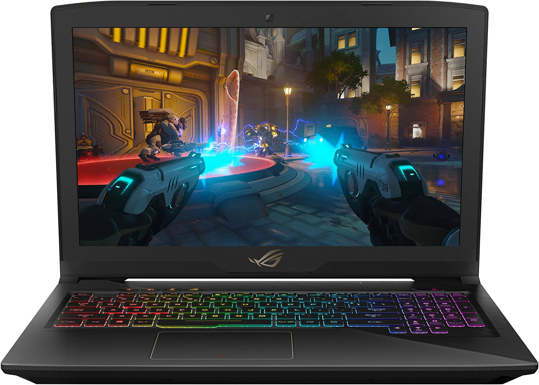 "ASUS ROG STRIX Gaming Laptop, 15.6"" IPS-Type Full HD, Intel Core i7-7700HQ Processor, GeForce GTX 1050 4GB, 16GB DDR4, 1TB FireCuda SSHD, RGB, Windows 10 Home - GL503VD-DB71"