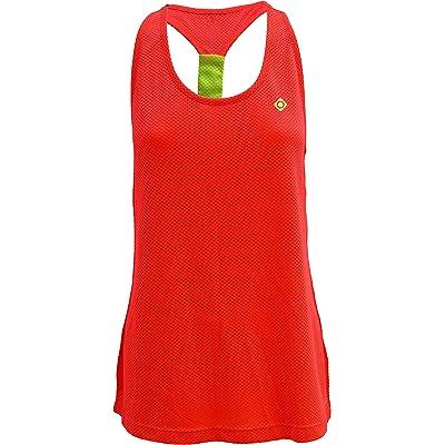 Izas - Talaia - Camiseta - Woman - Pink Fluor/Yellow - M