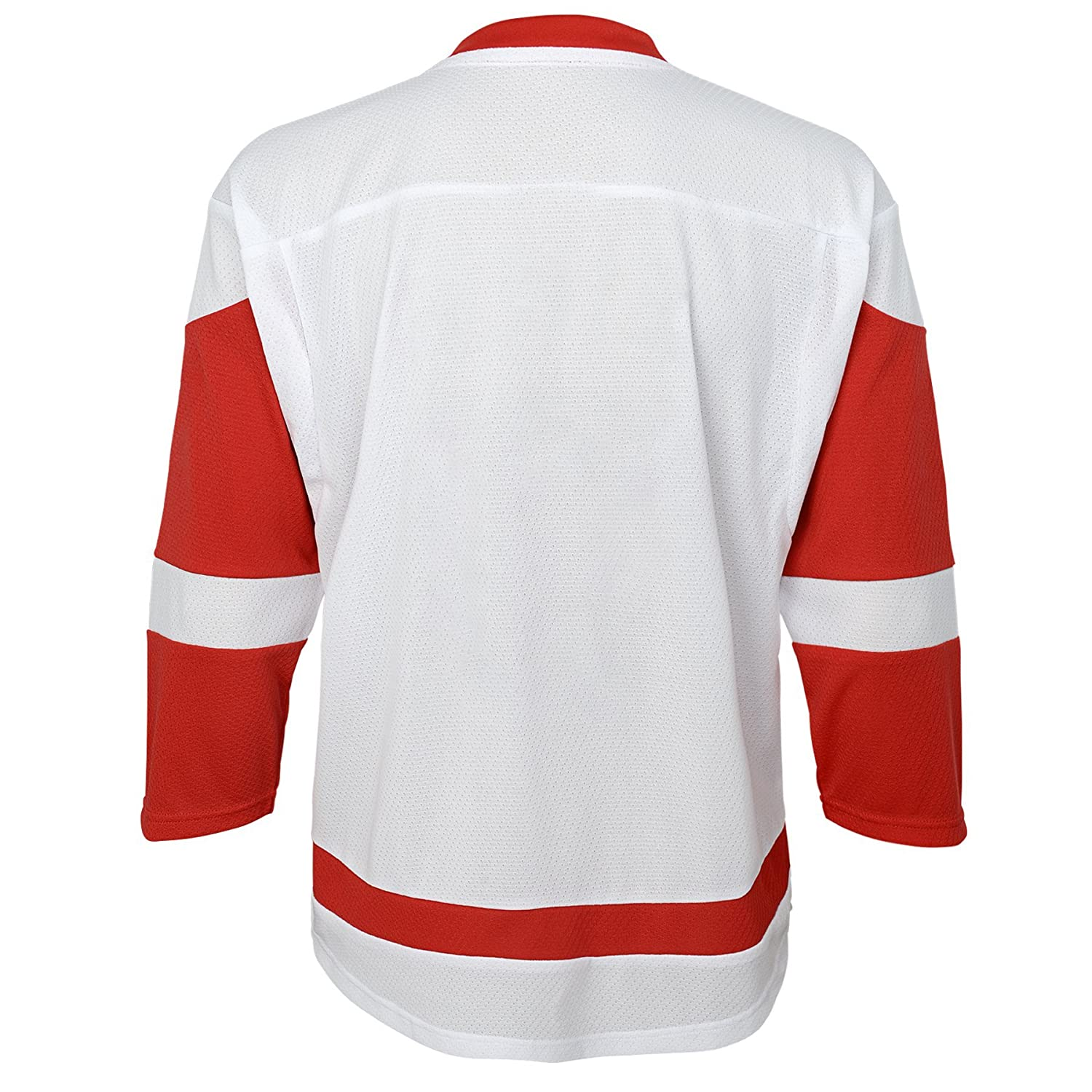 6-10 Youth Small//Medium White NHL Detroit Red Wings Youth Outerstuff Replica Jersey-Away