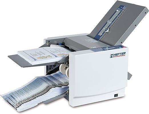 Ideal Falzmaschine 8305//83050011 pergrau//mittelgrau DIN A4 60 bis 120 g//qm
