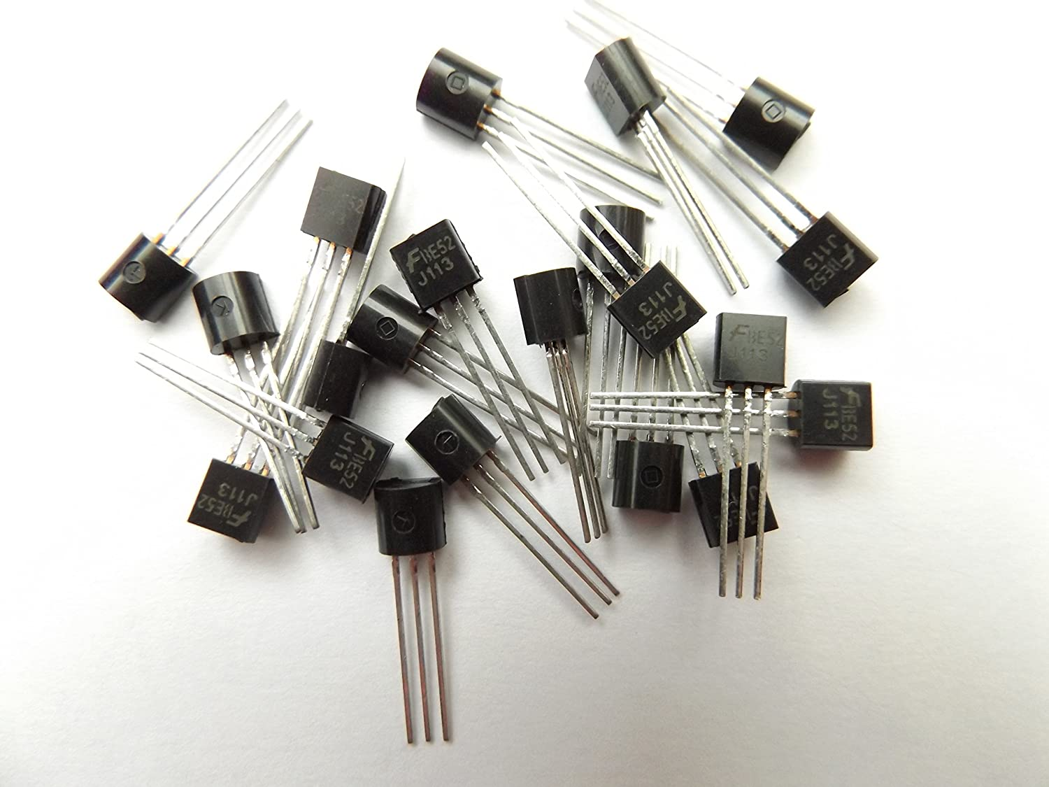 J113 Trans JFET N-CH 3-Pin TO-92 Pack of 20pcs Fairchild