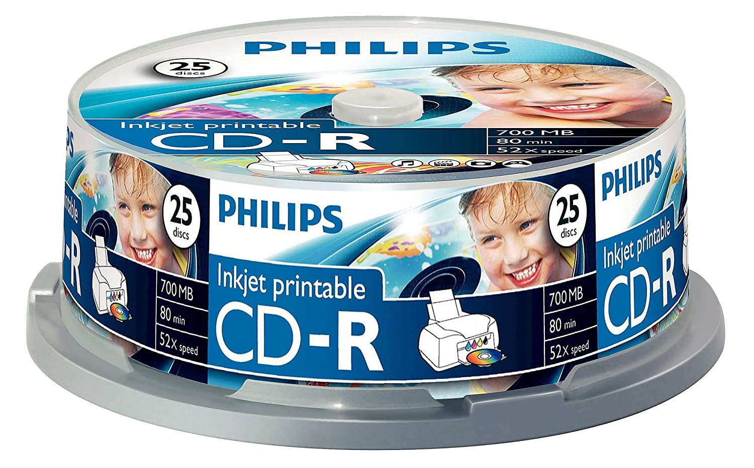 Philips 25 x CD-R - 700MB / 80min 908210004757 B009H05FP4