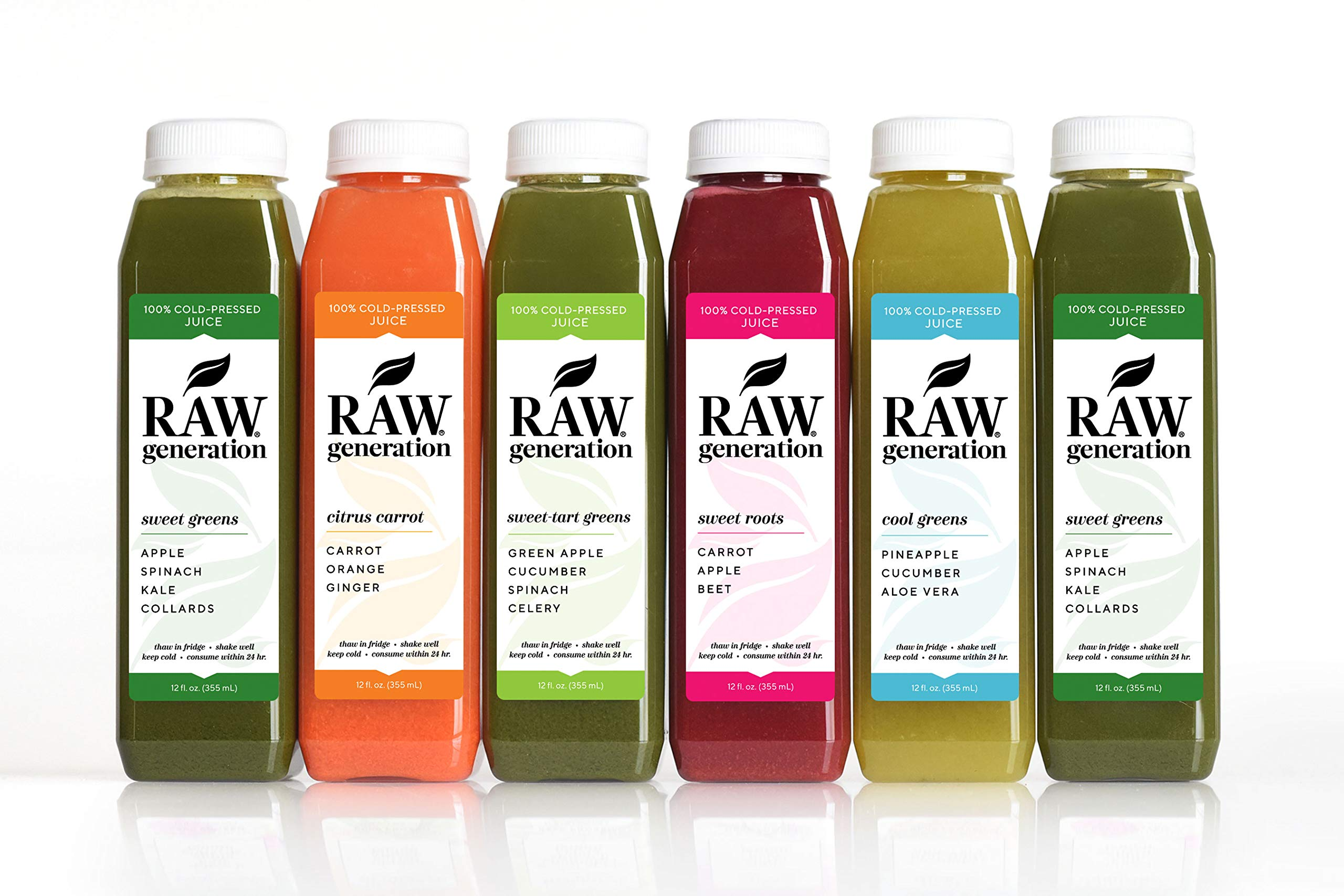 7-Day Skinny Cleanse by Raw Generation® - Best Juice Cleanse to Lose Weight Quickly/Healthiest Way to Cleanse & Detoxify Your Body/Jumpstart a Healthier Diet by RAW generation