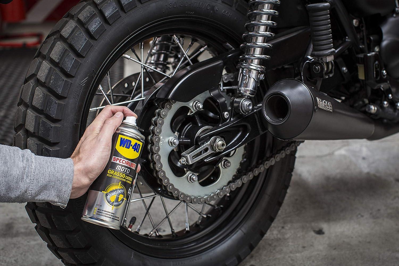 Wd 40 Specialist Moto Wartungs Set Für Motorradketten Mit 1 X Kettenreiniger 400 Ml 1 X Kettenfett 400 Ml Und 1 X Kettenbürste Gewerbe Industrie Wissenschaft