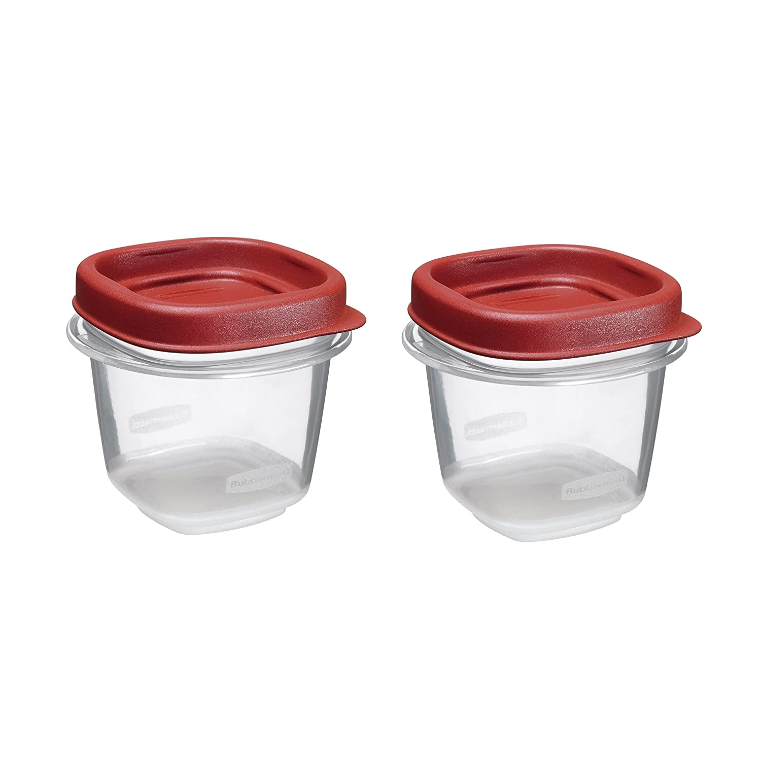 Freezer Containers Bpa Free Rubbermaid Easy Find Lid Food Storage Set 1/2 Cup 4 Piece ...