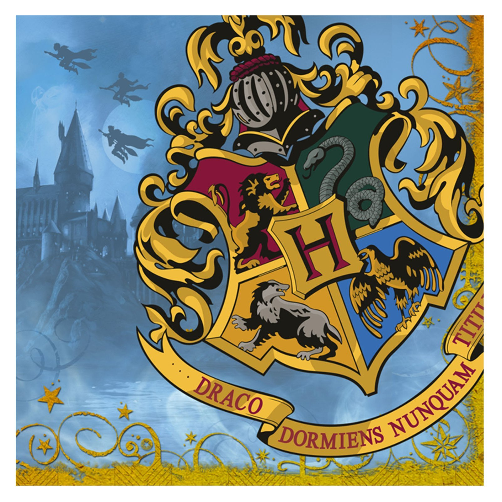 Harry Potter 'Deathly Hallows' Large Napkins (16ct)