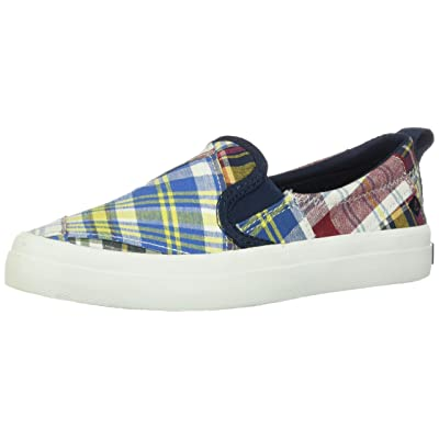 SPERRY Top-Sider Crest Twin Gore Prep Womens Navy Slip On   Shoes