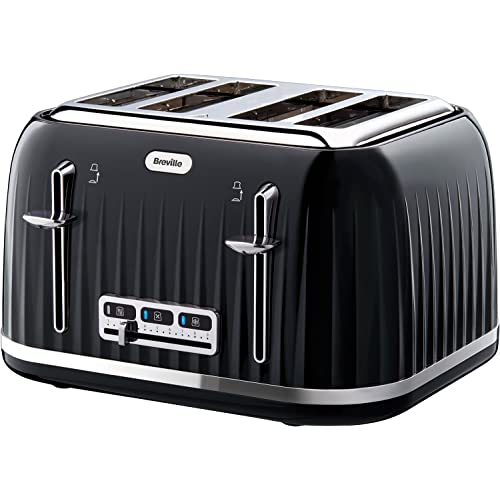 Breville Impressions 4 Slice Toaster - Black