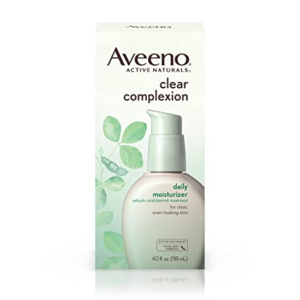 AVEENO Active Naturals Clear Complexion Daily Moisturizer 4 oz (Pack of 6) Aveeno Absolutely Ageless Daily Moisturizer With Sunscreen Broad Spectrum Spf 30, 1.7 Fl. Oz
