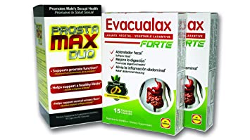 Amazon.com: Prostamax Duo + 2 Evacualax Forte: Health & Personal Care