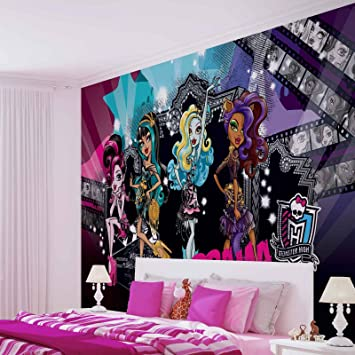 Monster High Fototapete Wandbild Bild Tapete VLIES (EasyInstall ...