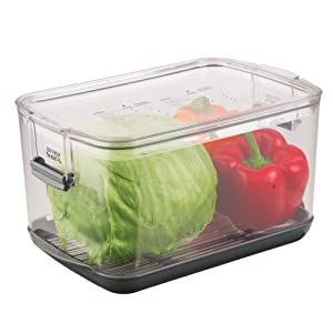 Prepworks by Progressive Produce ProKeeper, PKS-900,5.6-Quart, Stay-Fresh Vent System, Great for Lettuce