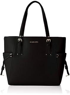 19bd77dc52df Amazon.com  Michael Kors Voyager Crossgrain Leather Totecer Leather ...