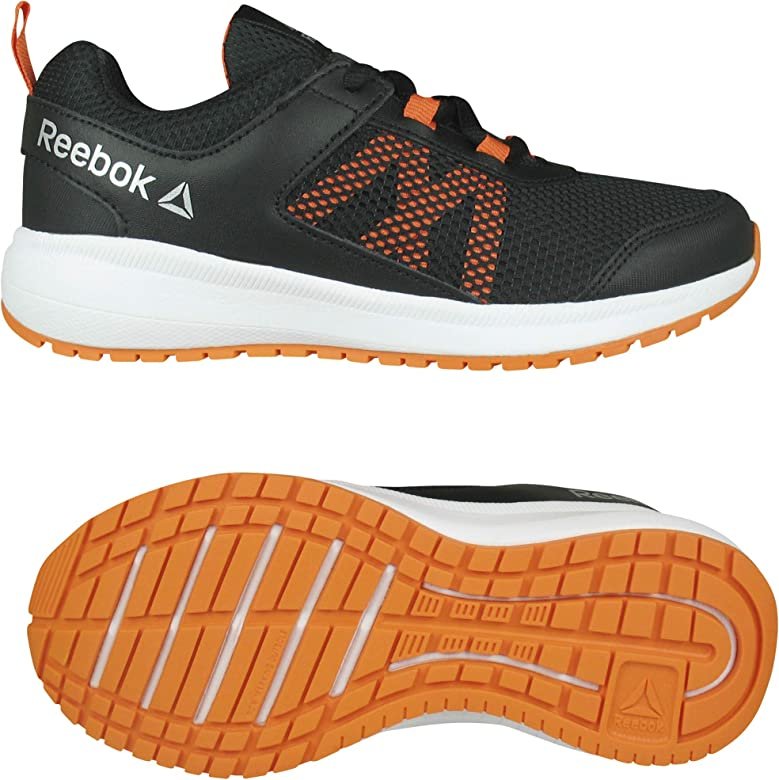 Reebok Road Supreme, Zapatillas de Trail Running para Niños, Multicolor (Black/Orange/Silver 000), 36.5 EU: Amazon.es: Zapatos y complementos