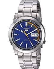 "Seiko Men's SNKK27""Seiko 5"" Stainless Steel Automatic Watch"