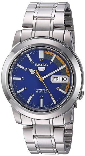 Seiko Reloj con Correa de Acero para Hombre SNKK27K1: Seiko: Amazon.es: Relojes